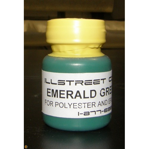 Emerald Green Colored Pigment for epoxy resin and polyester resins ...