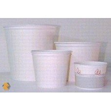 White Paper Tubs, 16oz
